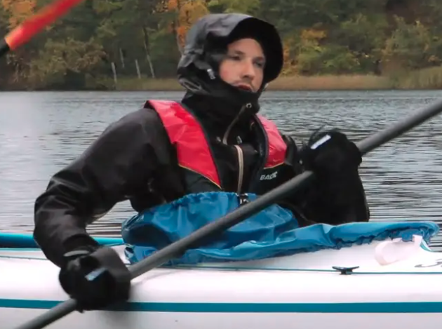 Kayaking – instruction film for people with physical disabilities